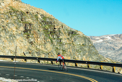 Biking the Beartooth Scenic Byway, All-American Road, Montana