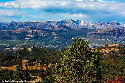Shoshone National Forest, Beartooth Scenic Byway, All-American Road, Montana