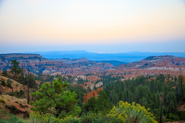 Sunrise Point, Bryce Canyon National Park, Utah - 8100 feet (2469 m)