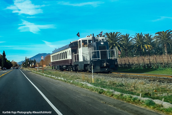 Train, Napa Valley, California