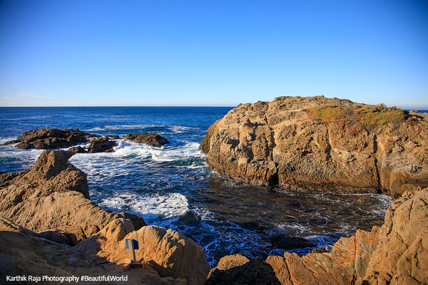 South Shore Trail, Point Lobos State Natural Reserve,  California