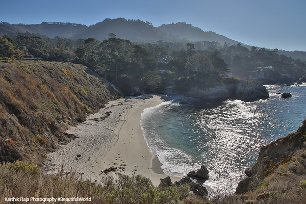 Gibson's Beach, Bird Island Trail, Point Lobos State Natural Reserve,  California