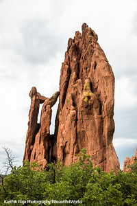 Cathedral Spires, Garden of the Gods, Colorado Springs, Colorado