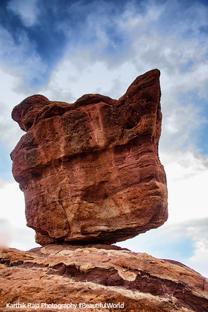 Balanced Rock, Garden of the Gods, Colorado Springs, Colorado
