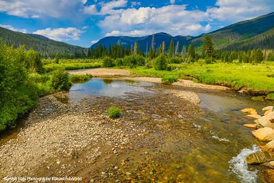 Colorado River, Holzwarth Historic Site, Rocky Mountain National Park, Colorado