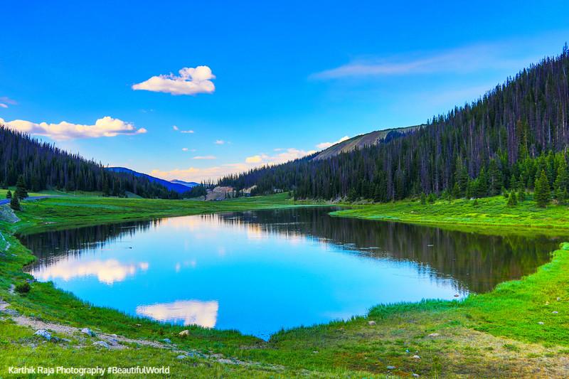 Poudre Lake, Milner Pass, Continental Divide, Rocky Mountain National Park, Colorado