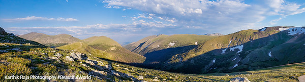 Alpine Ridge Trail, Alpine Visitor Center, Rocky Mountain National Park, Colorado