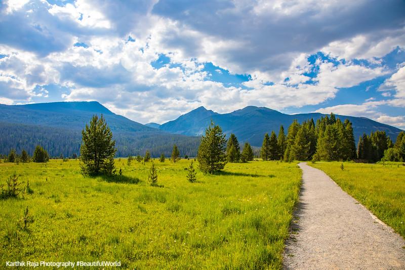 Coyote Valley Trailhead, Rocky Mountain National Park, Colorado