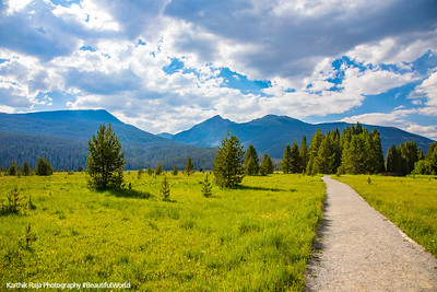 Coyote Valley Trailhead, Rocky Mountain National Park, Colorado