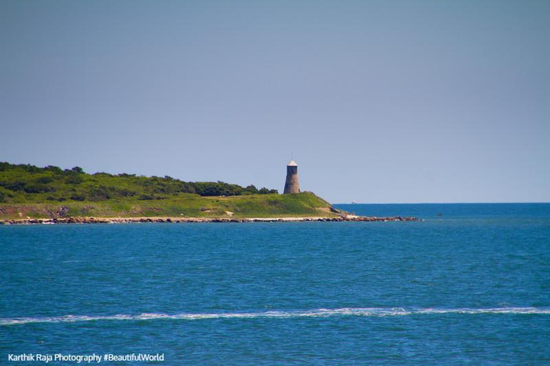 Point Gammon Light, Nantucket Sound, Hyannis - Nantucket Ferry, Cape Cod Islands, Massachusetts