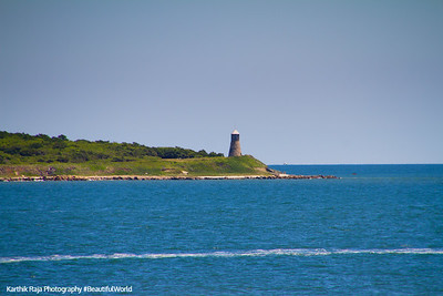 Point Gammon Light, Nantucket Sound, Hyannis - Nantucket Ferry, Cape Cod Islands, Massachusetts