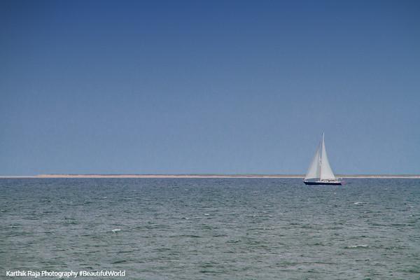 Nantucket Sound, Sailboat, Cape Cod Islands, Massachusetts
