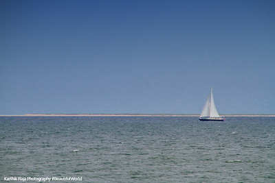 Nantucket Sound, Sailboat, Cape Cod Islands, Massachusetts