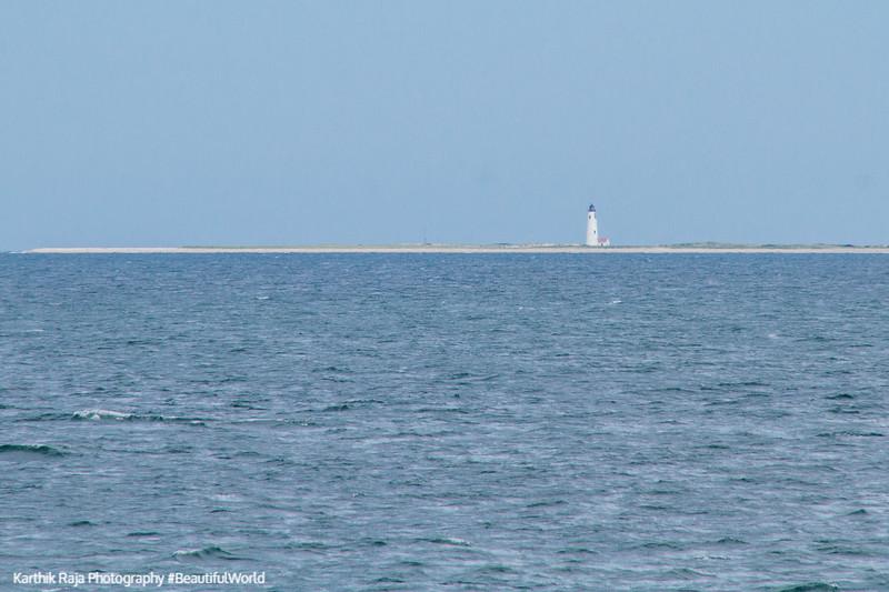 Stage Harbor Lighthouse, Nantucket Sound, Hyannis - Nantucket Ferry, Cape Cod Islands, Massachusetts
