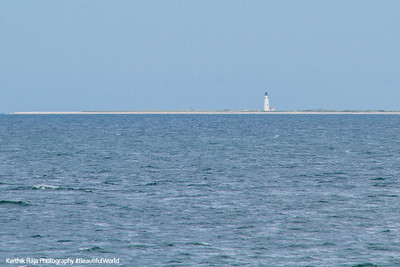 Stage Harbor Lighthouse, Nantucket Sound, Hyannis - Nantucket Ferry, Cape Cod Islands, Massachusetts