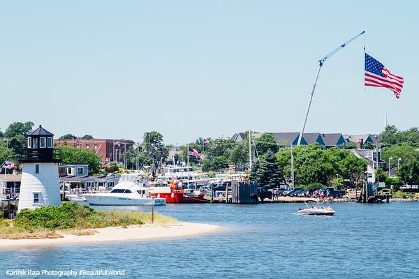 Lighthouse, Hyannis Harbor, Cape Cod, Massachusetts
