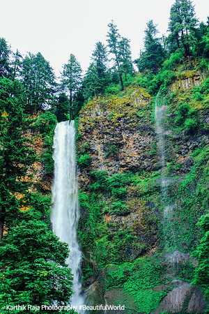Multnomah Falls, Columbia River Gorge National Scenic Area, Oregon