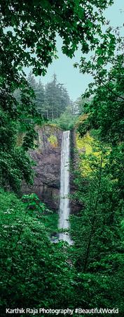 Latourell Falls, Guy W. Talbot State Park, Columbia River Gorge National Scenic Area, Oregon