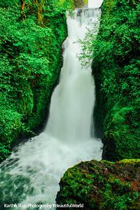 Bridal Veil Falls, Columbia River Gorge National Scenic Area, Oregon