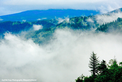 Clouds, Columbia River Gorge National Scenic Area, Oregon