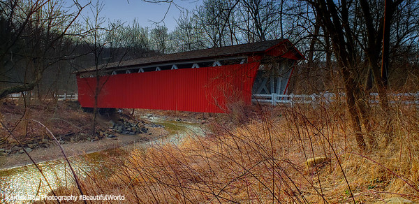 Covered Bridge, Cuyahoga Valley National Park, Ohio
