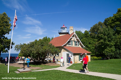 Eagle Bluff Lighthouse, Peninsula State Park, Door County, Wisconsin