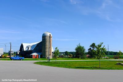 Farm, Barn, Door County, Wisconsin
