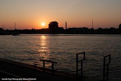Fox River, Green Bay, Wisconsin