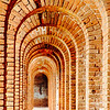 Casemates, Infinity, Fort Jefferson, Dry Tortugas National Park, Florida