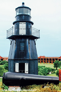 Harbor Light, Fort Jefferson, Dry Tortugas National Park, Florida