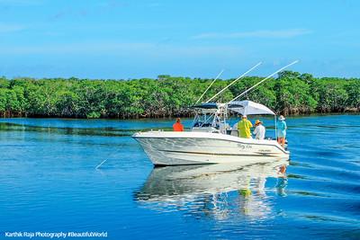 Boat, John Pennekamp Coral Reef State Park, Florida Keys