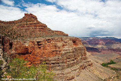 Indian Garden, Plateau Point, Bright Angel Trail, Grand Canyon National Park, Arizona