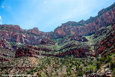 Bright Angel Trail, Grand Canyon National Park, Arizona