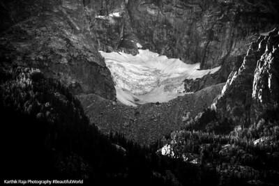 Grand Teton National Park, Wyoming - Teton Glacier