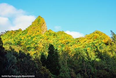 Pali lookout, Oahu, Hawaii, USA