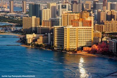 Sheraton Waikiki - our Hotel, Oahu, Hawaii, USA
