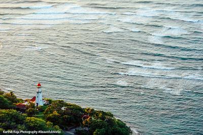 Lighthouse, Oahu, Hawaii, USA