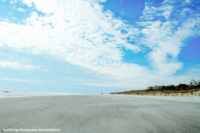 Coligny beach, Atlantic Ocean, Hilton Head Island, South Carolina