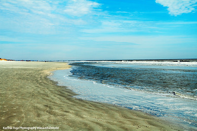 Coligny beach, Atlantic Ocean, Hilton Head Island, South Carolina