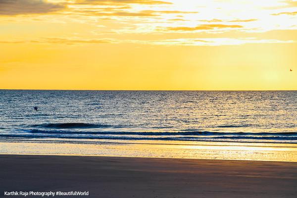 Sunrise, Atlantic Ocean, Coligny beach, Hilton Head Island, South Carolina