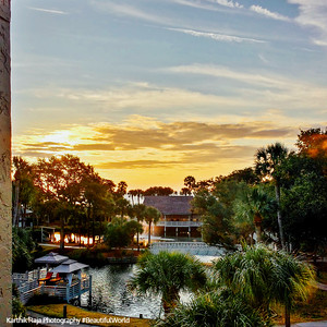 Sunrise, Sonesta Resort, Shipyard Plantation, Hilton Head Island, South Carolina