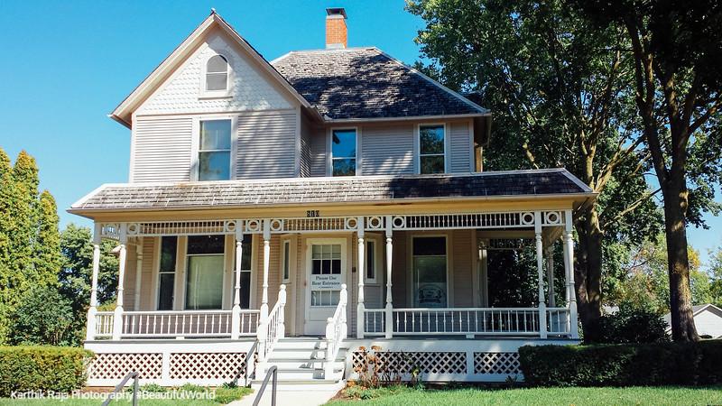 Ronald Reagan Boyhood Home, Dixon, Quad Cities, Illinois