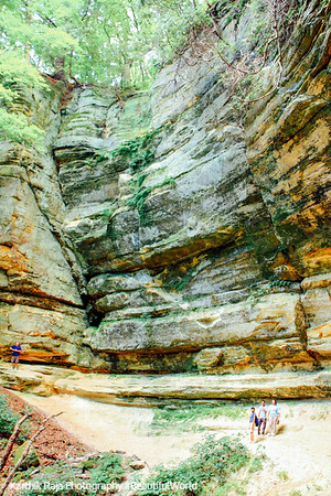 Starved Rock State Park, Illinois ,Canyon