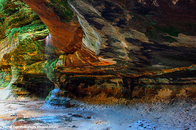 Starved Rock State Park, Illinois, Waterfalls