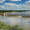 Starved Rock State Park, Illinois River, Dam
