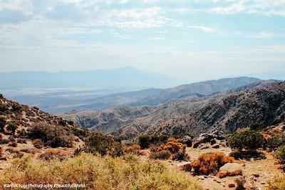 Coachella Valley, Keys View, Joshua Tree National Park, California