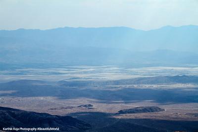 San Andreas Fault, Coachella Valley, Keys View, Joshua Tree National Park, California