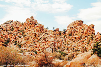 Hidden Valley Nature Walk, Joshua Tree National Park, California