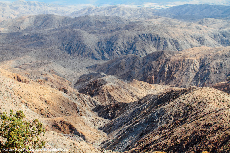 Keys View, Indio Hills, Joshua Tree National Park, California