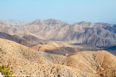 Little San Bernardino Mountains, Keys View, Joshua Tree National Park, California